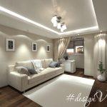 Проект двухкомнатной квартиры, площадью 56,7 кв.м.