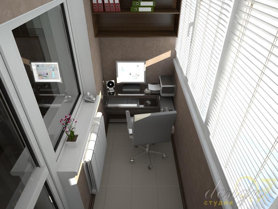 маникюрный кабинет на лоджии фото проектов